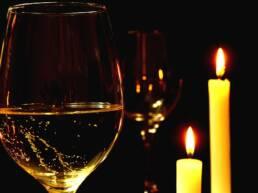 vino al lume di candela