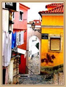 Lisabona-Alfama-Portugalia