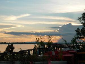 laos tramonto