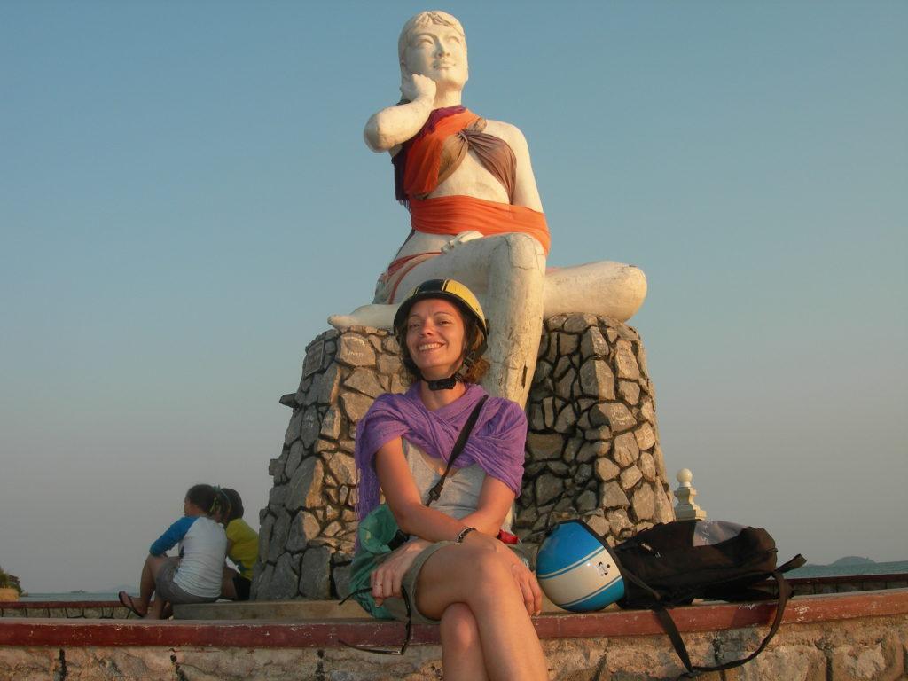 Kep Statua Moglie del Pescatore